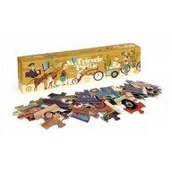 Londji - Puzzle animale Tricicleta , Puzzle Copii, piese 54