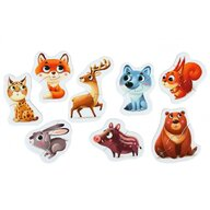 Cubika - Puzzle animale Animalutele de la munte Puzzle Copii, piese 16