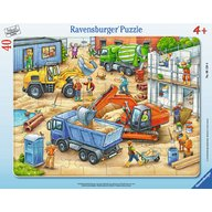 Ravensburger - Puzzle Utilaje, 40 piese