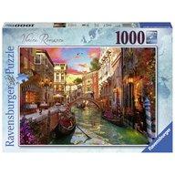 Ravensburger - Puzzle Venetia romantica, 1000 piese