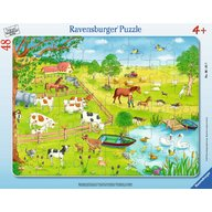 Ravensburger - Puzzle Zona rurala, 48 piese