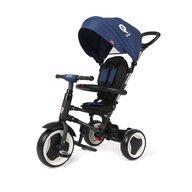 QPlay - Tricicleta pliabila pentru copii Rito Albastru inchis