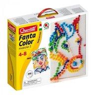 Quercetti - Joc creativ Fantacolor Modular 2, 300 piese