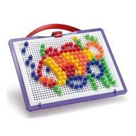 Joc creativ Fanta Color Portabil Quercetti creatie imagini mozaic, 150 piese