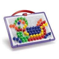 Joc creativ Fanta Color Portabil Quercetti creatie imagini mozaic, 100 piese