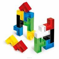 Quercetti - Joc creativitate si indemanare - Joc constructie Poli, 19 piese