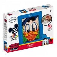 Quercetti - Joc creativ Mini Pixel Art tablou Donald Duck 1200 piese