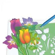Set creativ pentru copii Forme Flori Quercetti