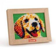Quercetti - Set creativ pentru copii Mini Pixel Art Caine
