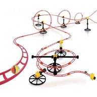 Quercetti - Set creativ pentru copii Roller Coaster Maxi Rali 16 metri