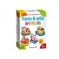 Ranok - Set creativ copii animale salbatice si ferma