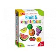 Ranok - Set creativ copii fructe si legume