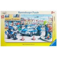 Ravensburger - PUZZLE DEPARTAMENTUL POLITIEI, 15 PIESE