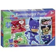 Ravensburger - Puzzle Eroi in pijamale, 35 piese