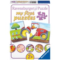 Ravensburger - Puzzle La ferma, 9x2 piese