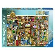 Ravensburger - Puzzle Libraria bizara 2, 1000 piese