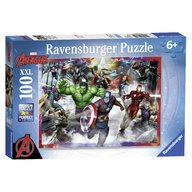 Ravensburger - Puzzle Razbunatorii, 100 piese
