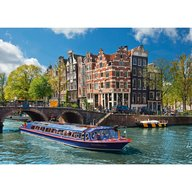 Ravensburger - Puzzle Turul Canalului in Amsterdam, 1000 piese