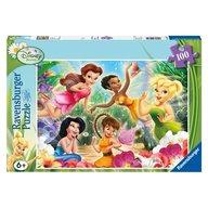 Ravensburger - Puzzle Zanele Disney, 100 piese