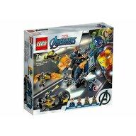 Set de joaca Razbunatorii - distrugerea camionului LEGO® Marvel Super Heroes