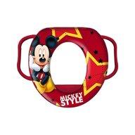 Star - Reductor WC captusit cu manere Mickey, Rosu
