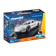 Playmobil - Rex Dasher cu Porsche Mission E.