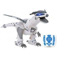 Globo - Robot de jucarie Dinozaur cu telecomanda 39488 pentru copii programabil cu functie lupta si incarcare USB