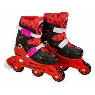 Saica - Role pentru copii cu 3 roti interschimbabile, marime 31-34, Ladybug