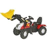 Rolly Toys Tractor cu pedale copii  046331 Alb Rosu