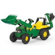 Rolly Toys Tractor cu pedale copii 811076 Verde