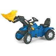 Rolly Toys Tractor cu pedale pentru copii 046713 Albastru