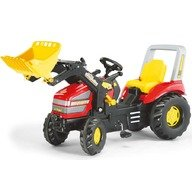 Rolly Toys Tractor cu pedale  si cupa copii  046775 Rosu