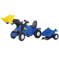 Rolly Toys Tractor cu pedale si remorca 049417