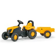ROLLY TOYS Tractor Cu Pedale Si Remorca Copii  012619 Galben