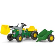 ROLLY TOYS Tractor Cu Pedale Si Remorca Copii 023110 Verde