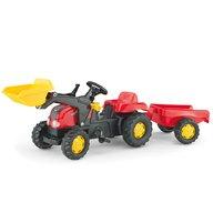 ROLLY TOYS Tractor Cu Pedale Si Remorca Copii 023127 Rosu