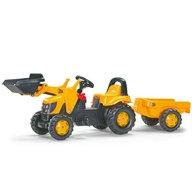 ROLLY TOYS Tractor Cu Pedale Si Remorca Copii 023837 Galben