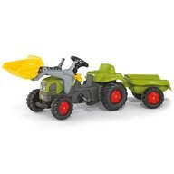 Rolly Toys Tractor cu pedale si remorca Copii  023905 Verde