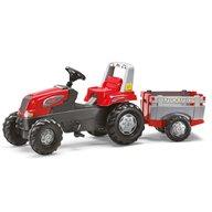 ROLLY TOYS Tractor Cu Pedale Si Remorca Copii 800261 Rosu