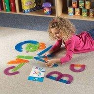 Learning Resources - Sa construim alfabetul!