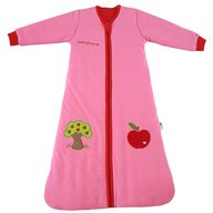 Slumbersac - Sac de dormit cu maneca lunga Apple of my eye 0-6 luni 3.5 Tog, Roz