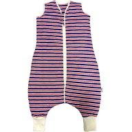 Slumbersac - Sac de dormit cu picioruse 18-24 luni 1.0 Tog, Navy Red Stripes