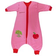 Slumbersac - Sac de dormit cu picioruse si maneca lunga detasabila Apple of my eye 5-6 ani 2.5 Tog, Roz