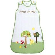 Slumbersac - Sac de dormit fara maneci Forest Friends din Bumbac, 70x46 cm, 0-6 luni, Tog 1.0