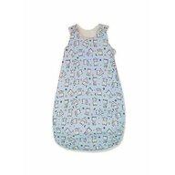 KidsDecor - Sac de dormit fara maneci Baby bear 95 cm din Bumbac, 95x36 cm, 12-24 luni, Tog 1.0, Albastru