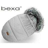 Bexa - Sac termic de iarna Pentru carucior , Cu blanita si interior fleece, Gri