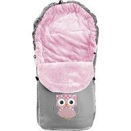 Tutumi - Sac de iarna Owl, Gri/Roz
