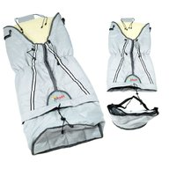 Skutt - Sac de iarna Lux 3 in 1 lana 100x45 cm Grey