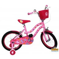 Saica - Bicicleta copii cu roti ajutatoare Hello Kitty 16