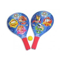 Saica - Set 2 palete pentru plaja Paw patrol din lemn cu minge inclusa pentru copii